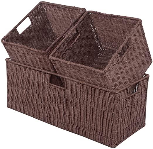 Caixa de rattan marrom15