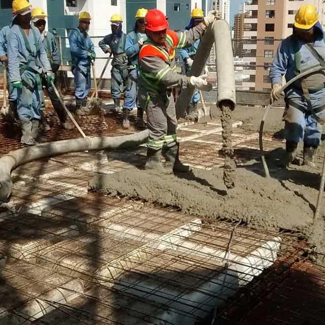 Com o concreto bombeado é possível trabalhar com cronograma de entrega mais curto