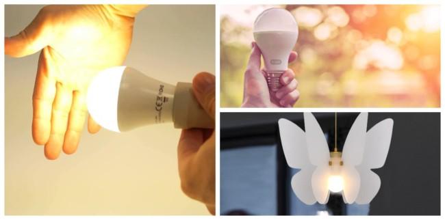 Como instalar uma lâmpada