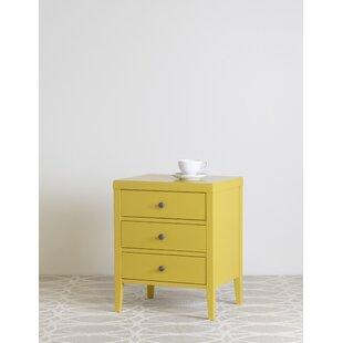 Criado mudo amarelo simples12 1