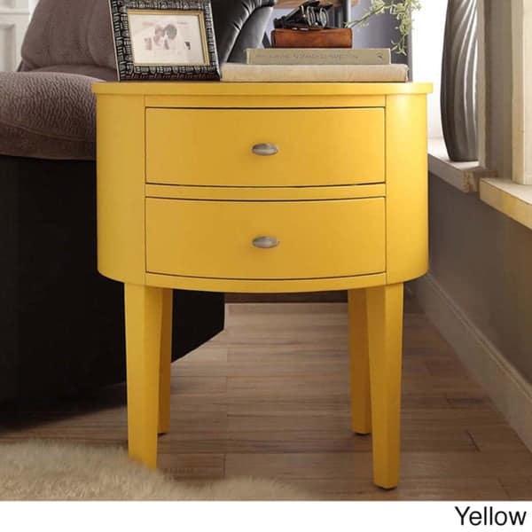 Criado mudo amarelo14 1
