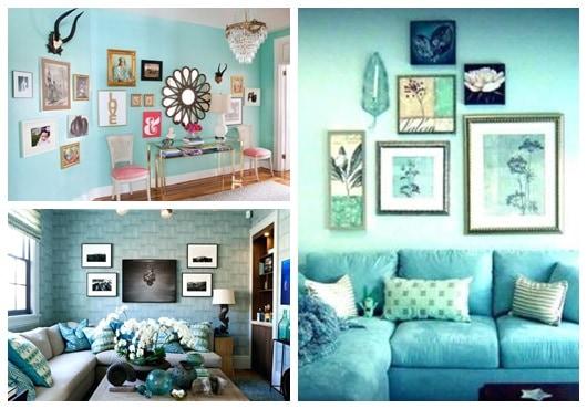 Decorações com azul tiffany72