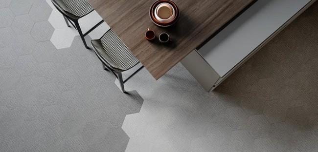 Modelo de piso industrial vinilico