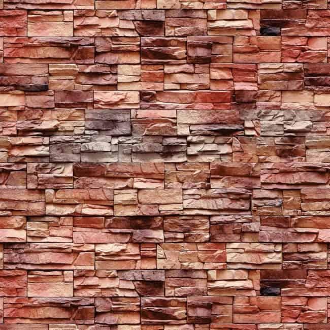 Pedra madeira vermelha 3d