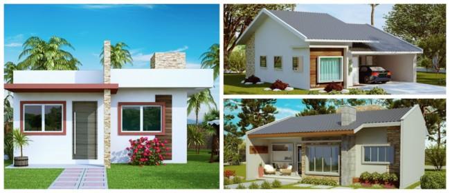 Planta de casas pequenas 4