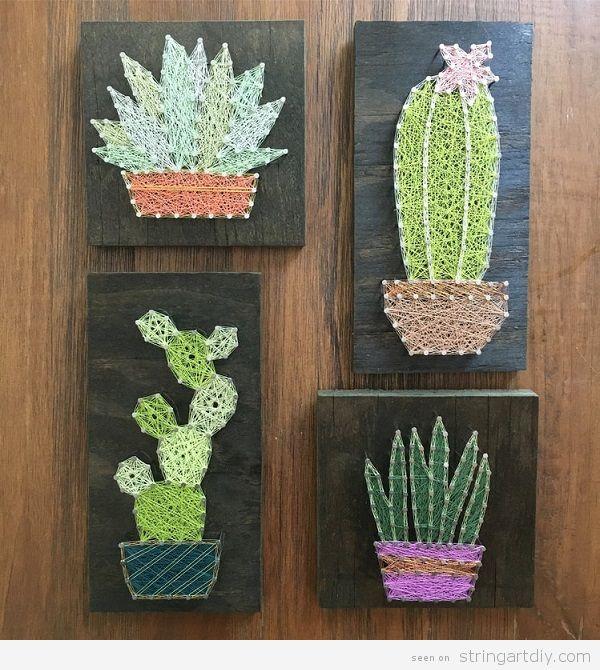 String art cactus20