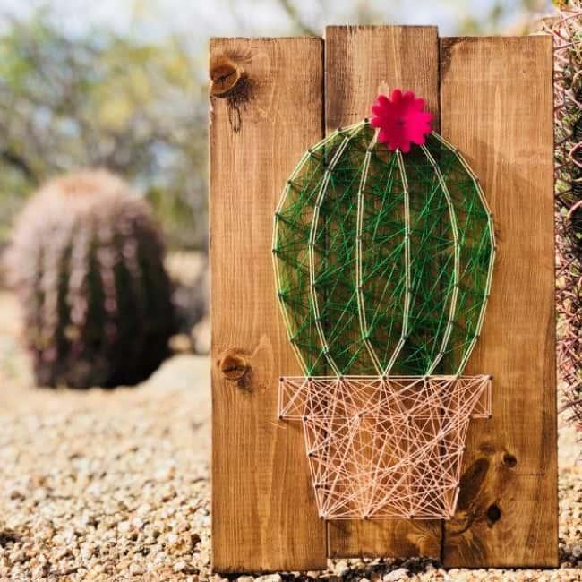 String art cactus22