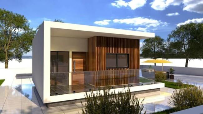 casa de alvenaria pre fabricada moderna