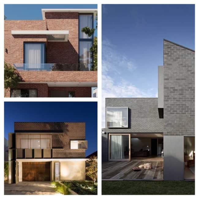 ideias de casas de alvenaria modernas