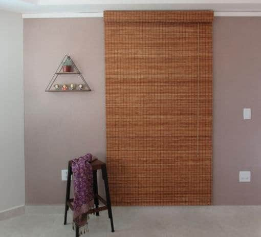 persiana de bambu