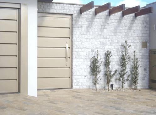 projeto com Pedra madeira branca