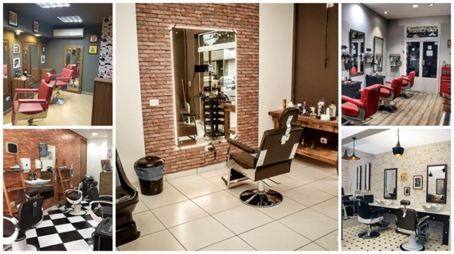 como decorar barbearia tradicional