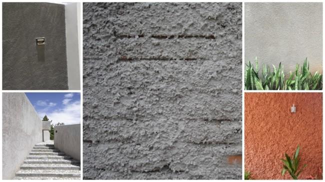 muro chapiscado