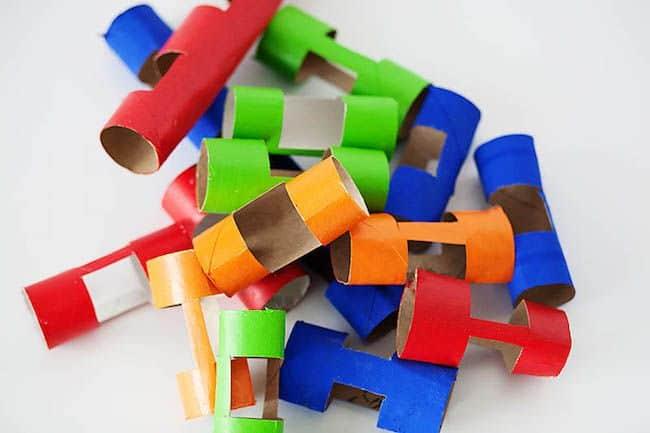 Brinquedo simples reciclado