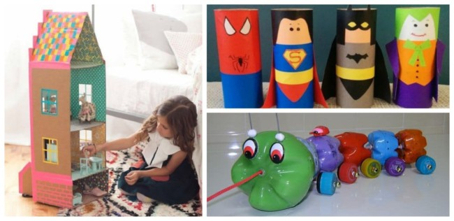 Brinquedos reciclados 1