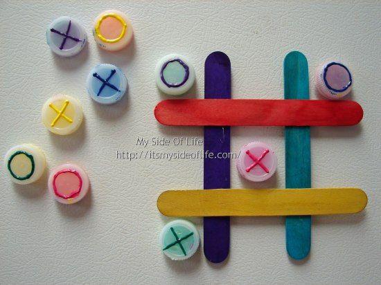 Brinquedos simples educativos