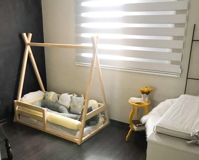 cama berço montessoriano