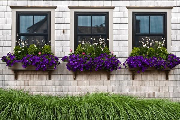 floreira de janela de alvenaria