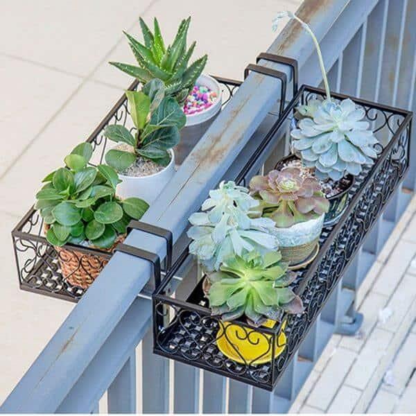 floreira de janela de plástico