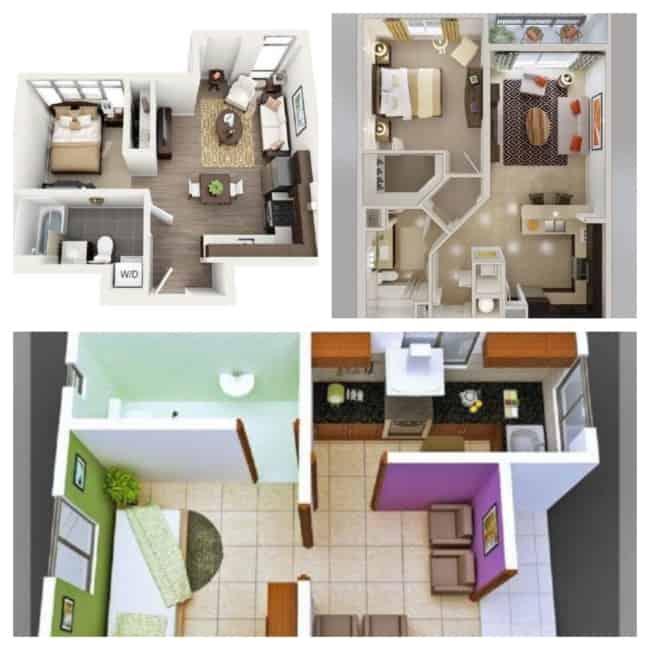 ideias de plantas de casas simples 2