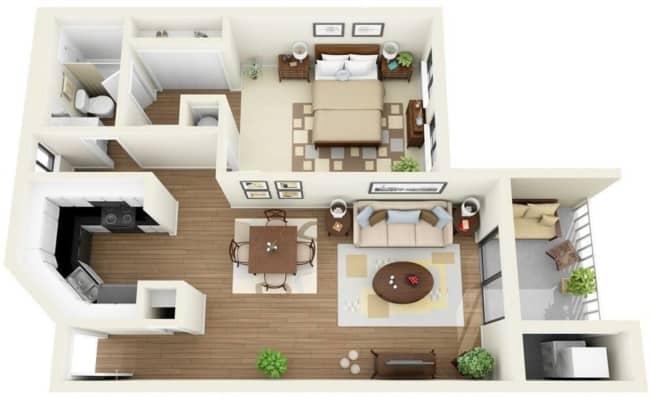 modelo de planta de casa simples