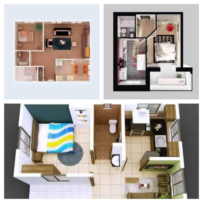 planta de casas simples 2