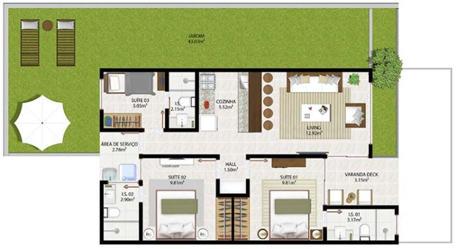 plantas de casas simples modelos