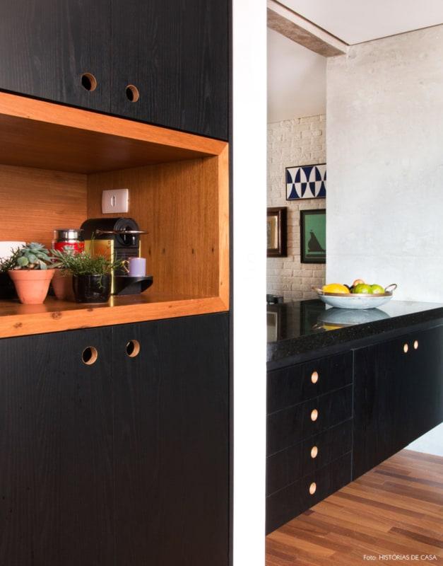 cozinha em compensado naval pintado
