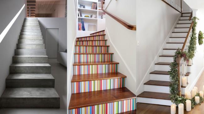 Tipos de escadas de alvenaria