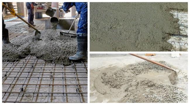 Traço de concreto 1