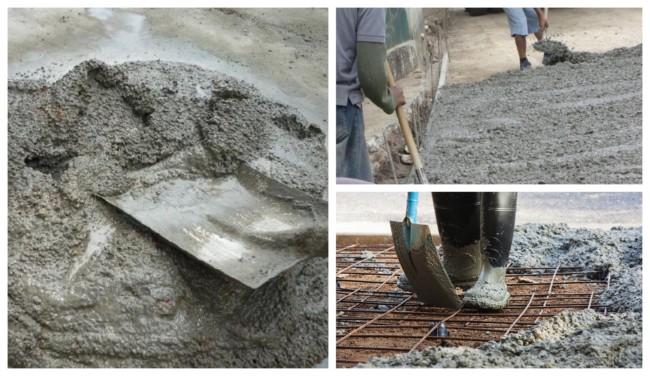 Traço de concreto 4
