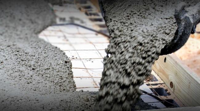 Traço de concreto para construção