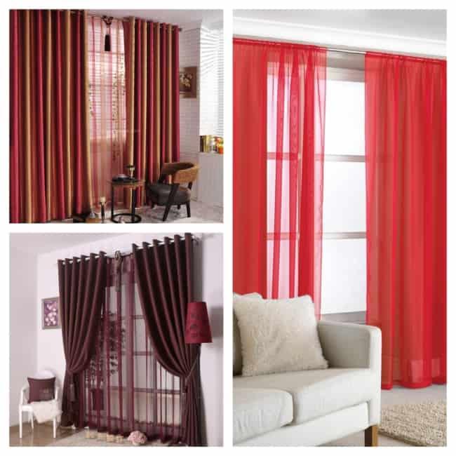 cortina vermelha ideias 1