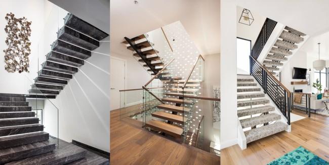 escadas residenciais internas
