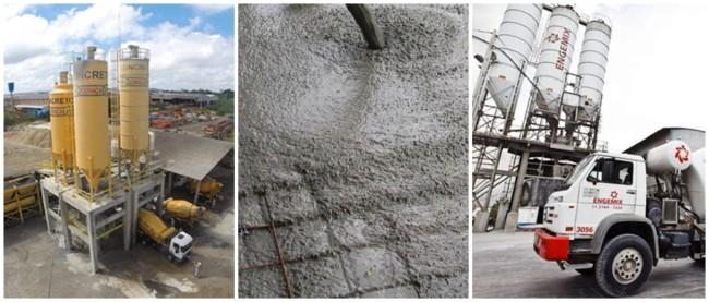 o que é concreto usinado
