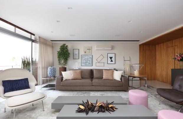 Apartamento decorado com muita beleza e elegancia