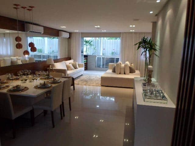 Apartamento grande com locais integrados