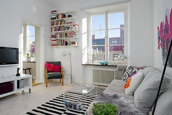 Apartamento simples com decoracao minimalista