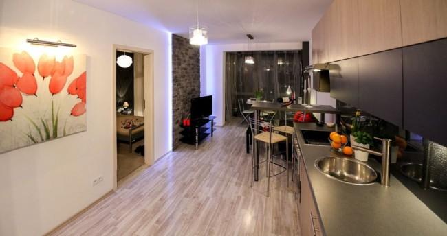 Decoracao de apartamento pequeno com ambientes integrados