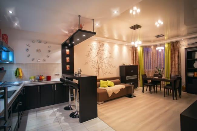 Decoracao de apartamento pequeno com particularidades em cada ambientes