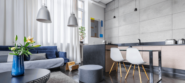 Decoracao moderna e aconchegante para apartamento pequeno