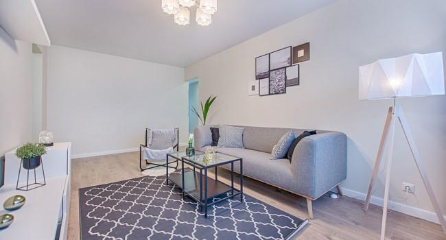 Decoracao simples para apartamento com o uso de tons de azul