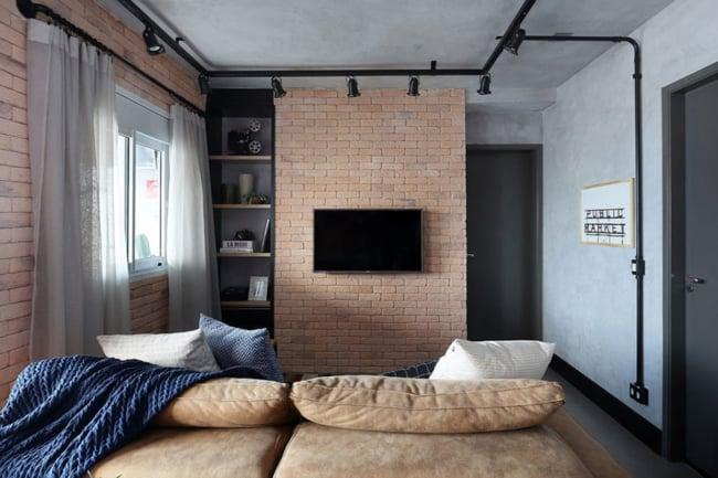 Decoracao simples para apartamento