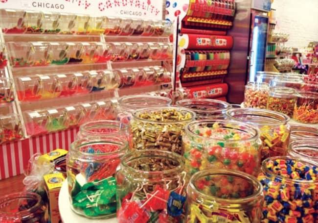 Lojas de doces nomes
