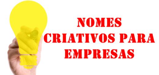 nomes criativos para empresas