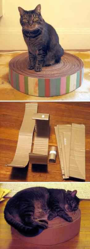 arranhador papelao