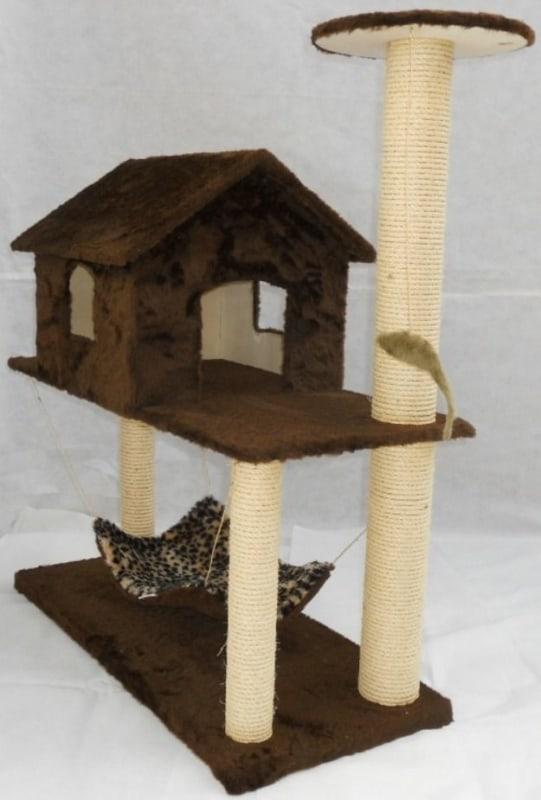 arranhador para gatos completo