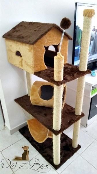 arranhador para gatos grande 2