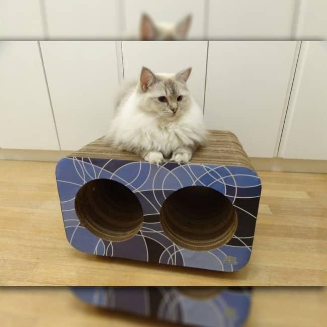 arranhador para gatos pequeno