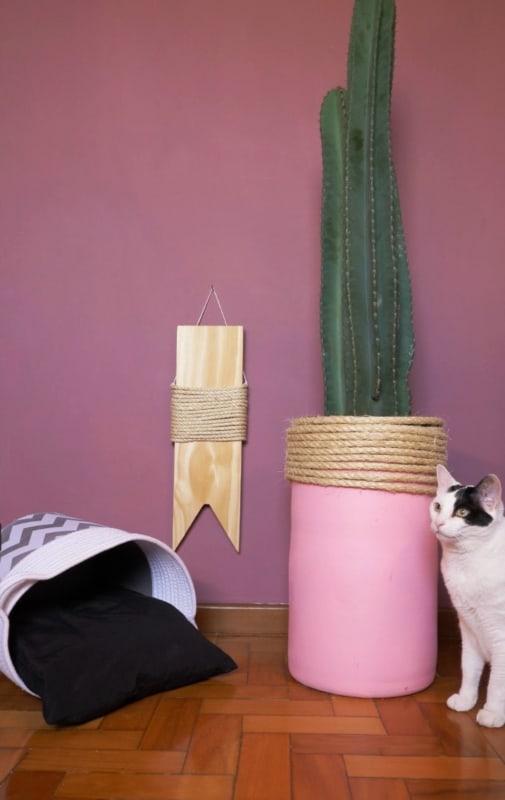 arranhador para gatos simples